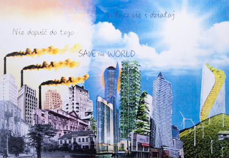 Obraz  Kamila Majewska Save the World