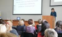 powitanie uczestnków przez Dyrektora - Izabelę Maciejewską