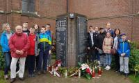 Pomnik ku czci żołnierzy 1DP - Baarle Nassau Holandia