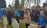 Na Polskim cmentarzu wojennym Oosterhout Holandia