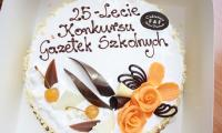 Jubileuszowy tort ufundowany przez  Cukiernię F&F Dariusz Fryckowski