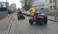 Wjazd do Wojewódzkiego Szpitala Dziecięcego