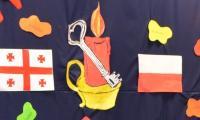 Płomień przyjaźni polsko-gruzińskiej