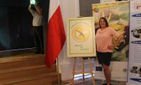 Pani Magdalena Goral laureatka XVII edycji konkursu Sposób na sukces, fot. ze zbiorów prywatnych Pani M. Goral