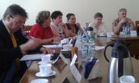 II posiedzenie Zespołu ds. ochrony zdrowia przy Kujawsko-Pomorskiej Wojewódzkiej Radzie Dialogu Społecznego, fot. Beata Wiśniewska