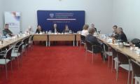 Uczestnicy posiedzenia Zespołu ds. ochrony zdrowia