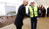 Uroczystość wbicia pierwszej łopaty na budowie nowego Wojewódzkiego Szpitala Zespolonego, fot. Mikołaj Kuras