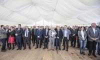 Uroczystość wbicia pierwszej łopaty na budowie nowego Wojewódzkiego Szpitala Zespolonego, fot. Andrzej Goiński
