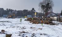 Budowa szpitala na Bielanach, fot. Szymon Zdziebło/tarantoga.pl dla UMWKP