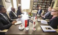 Spotkanie z ambasadorem Domingosem Culolo, fot. Andrzej Goiński dla UMWKP
