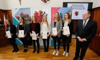 W tym roku stypendia otrzyma 135 młodych zawodników, fot. Mikołaj Kuras