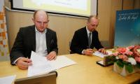 Uroczystość podpisania umów o dofinansowaniu projektów ze środków RPO, fot. Mikołaj Kuras