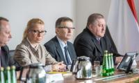 Spotkanie delegacji białoruskiej z przedstawicielami władz województwa kujawsko-pomorskiego, fot. Szymon Zdziebło dla UMWKP
