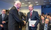 Białoruscy goście na Forum Gospodarczym w Toruniu, fot. Szymon Zdziebło/tarantoga.pl dla UMWKP
