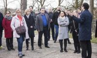 Drugi dzień wizyty przedstawicieli Europejskiej Federacji Dróg Świętego Jakuba z Composteli w Kujawsko-Pomorskiem, fot. Andrzej Goiński