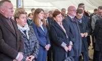 Ceremonia wmurowania kamienia węgielnego i aktu erekcyjnego pod rozbudowę szpitala na Bielanach, fot. Szymon Zdziebło/tarantoga.pl dla UMWKP