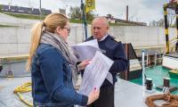 Włocławek – ostatni przystanek barki w Kujawsko-Pomorskiem, fot. Szymon Zdziebło/Tarantoga.pl