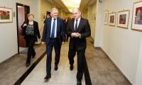 Wizyta komisarza Vytenisa Andriukaitisa w Urzędzie Marszałkowskim, fot. Mikołaj Kuras