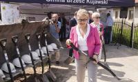 Uroczystość rozpoczęcia przebudowy drogi nr 265, fot. Andrzej Goiński