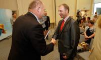 Uroczyste podpisanie umów w Urzędzie Marszałkowskim, fot. Mikołaj Kuras