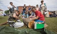 Rodzinny piknik na bydgoskiej Wyspie Młyńskiej, fot. Tymon Markowski