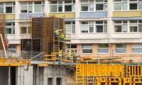 Budowa szpitala na Bielanach (3 lipca 2017), fot. Szymon Zdziebło/tarantoga.pl dla UMWKP