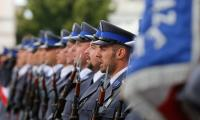 Obchody Wojewódzkiego Święta Policji odbyły się na Rynku w Chełmnie