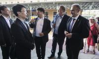 Wizyta gości z Hubei w Toruniu, fot. Andrzej Goiński
