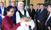 Wizyta gości z Hubei w Toruniu, fot. Adam Zaguła