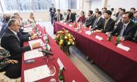 Spotkanie z gośćmi z Hubei w Urzędzie Marszałkowskim, fot. Andrzej Goiński