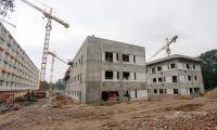 """Podczas niedzielnych """"dni otwartych"""" na budowie na Bielanach, fot. Mikołaj Kuras"""