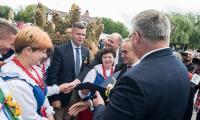 Dożynki wojewódzkie, Świecie 2017, fot. Tymon Markowski