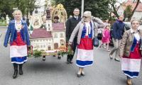 Dożynki wojewódzkie, Świecie 2017, fot. Andrzej Goiński