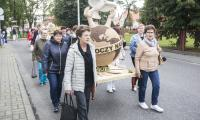 Korowód dożynkowy Świecie 2017, fot. Andrzej Goiński/UMWKP