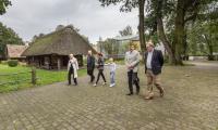 Delegacja z Włoch zwiedza Toruń - fot. Andrzej Goiński i Szymon Zdziebło