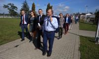 Członkowie Komitetu Monitorującego RPO odwiedzili też marinę w Grudziądzu, która powstała przy wsparciu z RPO na lata 2007-2013, fot. Andrzej Goiński