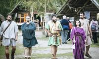 Festyn Archeologiczny w Biskupinie 2017, fot. Andrzej Goiński