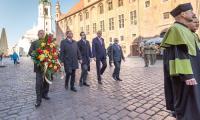 Uroczysta inauguracja roku akademickiego na Uniwersytecie Mikołaja Kopernika w Toruniu, fot. Szymon Zdziebło/Tarantoga.pl