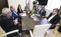 Spotkanie z gośćmi z Teksasu w Urzędzie Marszałkowskim, fot. Andrzej Goiński