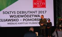 """Uroczysta gala konkursu """"Sołtys Roku 2017"""", fot. Andrzej Żeglarski"""