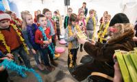 Spotkanie mikołajkowe dla najmłodszych w Muzeum Etnograficznym w Toruniu, fot. Andrzej Goiński