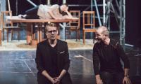 Próba medialna do spektaklu, fot. Andrzej Goiński