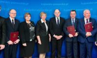 Ceremonia podpisania umowy, fot. Łukasz Piecyk dla UMWKP