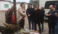 wizyta partnerów projektu NICHE - Wytwórnia Makaronu BioBabalscy