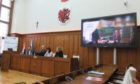 Projekcja filmu o realizowanych projektach przez Miasto Bydgoszcz