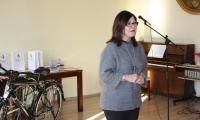 Mariola Cyganek dyrektor KPCEN w Bydgoszczy otwiera uroczystość
