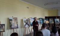 Otwarcie wystawy przez Barbarę Daroń wicedyrektora KPCEN w Bydgoszczy