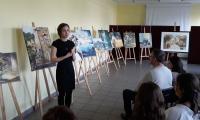 Utalentowana autorka prac Małgorzata Techner