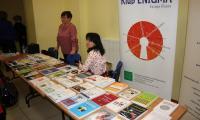 Wystawa książek przygotowana przez PBW w Bydgoszczy