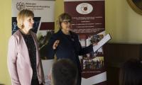 Organizatorzy witają uczestników Alina Maciąg UTP i Justyna Adamska KPCEN w Bydgoszczy